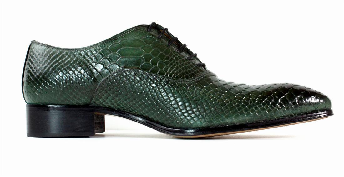 Ivan Troy Brown Crocodile Handmade Men/'s Shoes//Italian Leather Dress shoes Boots